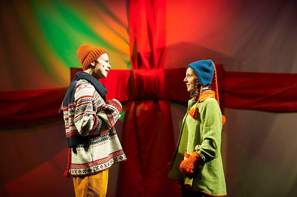 ANIKA, Pippi plündert Weihnachten, Theater Koblenz, 2015/16 – mit Magdalena Pircher, Johannes Rosenzweig
