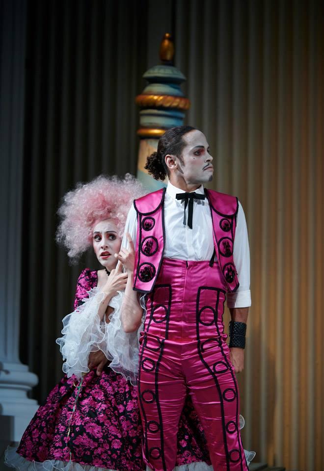 CLARICE, Der Diener zweier Herren, Theater Koblenz, 2019 – mit Magdalena Pircher, Stephen Appleton