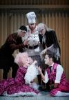 CLARICE, Der Diener zweier Herren, Theater Koblenz, 2019 - mit Magdalena Pircher, Wolfram Boelzle, Jona Mues, Stephen Appleton,  Marcel Hoffmann